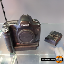 Canon Eos 5D + Canon Battery Grip + 2x accu en lader