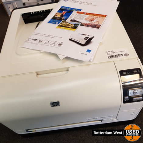 HP CP1525NW Color Laserjet // Print 1 blad