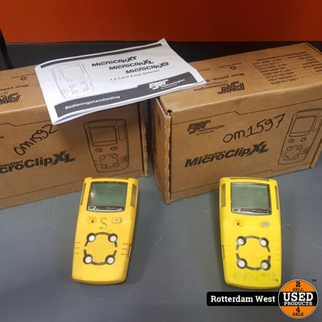 Gas alert Microclip XL / Prijs voor 2 st. /Gratis verzending