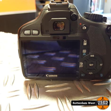 Canon Eos 550D + 18-55 Lens / Topstaat / Gratis verzending