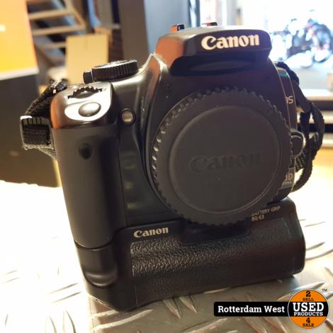 Canon Eos 400D + Batterygrip // Topstaat / Gratis verzending