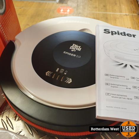 Dirt Devil M612 Spider 2.0 - Robotstofzuigers // Nieuwstaat // 1x gebruikt