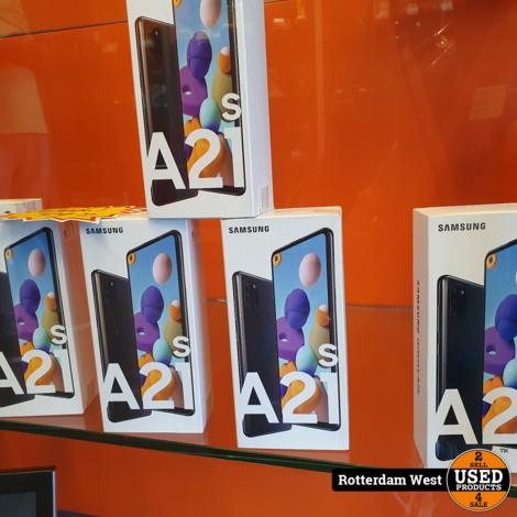 Samsung Galaxy A21s 32GB Black // NEW // Gratis verzending