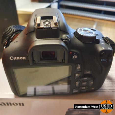 Canon EOS 2000D + 18-55mm IS II + Factuur 8 mei 2021 // Nieuwstaat