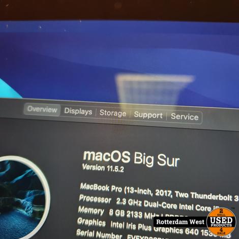 Macbook Pro 2017 / 128GB / 8GB
