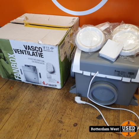 Vasco ventilatie-unit C400 // Nieuw // gratis verzending