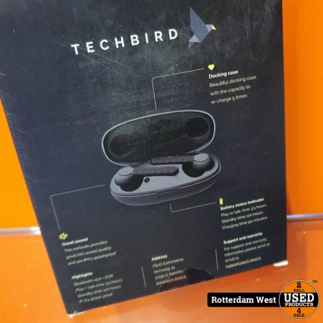 Techbird HiFly wireless earbuds // NEW + Free shipping