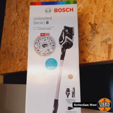 Bosch Steelstofzuiger Unlimited BBS811PCK // Nieuw