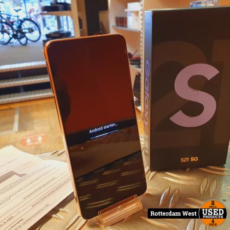 Samsung Galaxy S21 128GB 5G // Nieuwstaat
