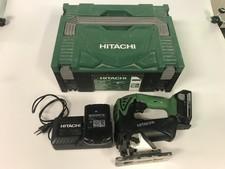 Hitachi CJ18DSL + 2x batterij + lader    in koffer    Met Garantie