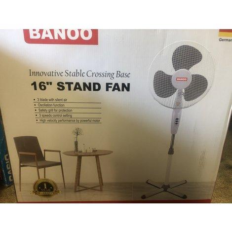 Banoo 16 inch ventilator || Nieuw in doos || met garantie ||