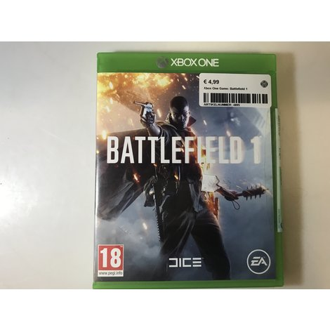 Xbox One Game: Battlefield 1 || in nette staat ||