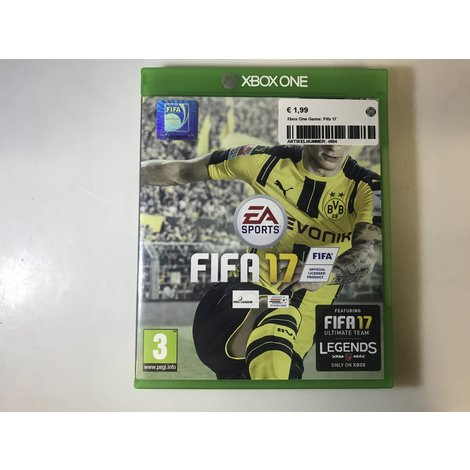 Xbox One Game: Fifa 17 || in nette staat ||