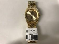 August Steiner AS8046YGD gouden horloge