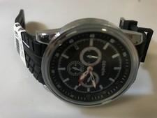 Geneva horloge zwart || Nette staat || Met garantie