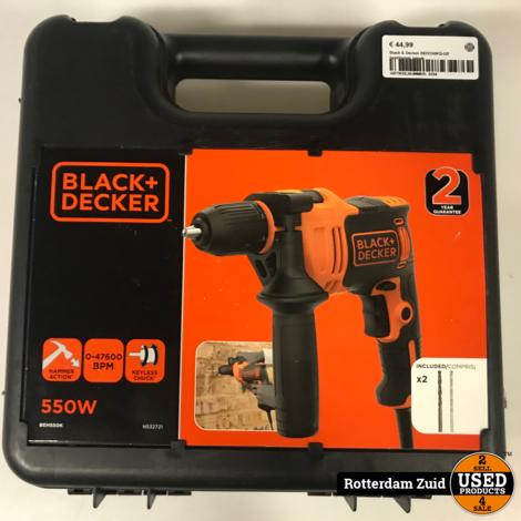 Black & Decker BEH550KQ-QS boorhamer nieuw