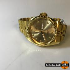 August Steiner as8047yg gouden horloge    met garantie   