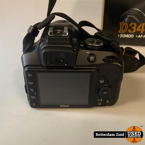 Nikon D3400 Camera + 18-55 mm  || compleet in doos met garantie ||