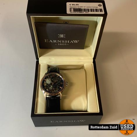 Earnshaw ES-8061-07 horloge || Nieuw in doos ||