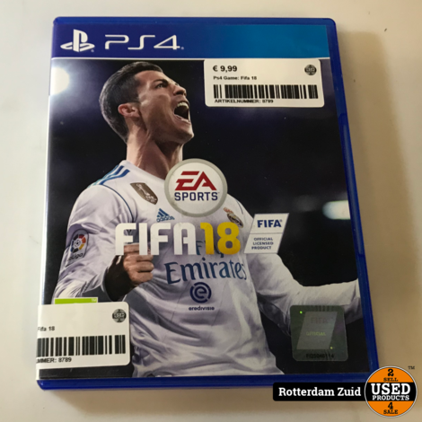 Ps4 Game: Fifa 18 | Met garantie