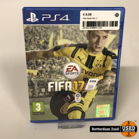 Ps4 Game: Fifa 17 | Met garantie