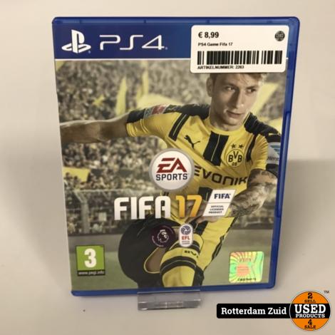 PS4 Game: Fifa 17 || Met garantie