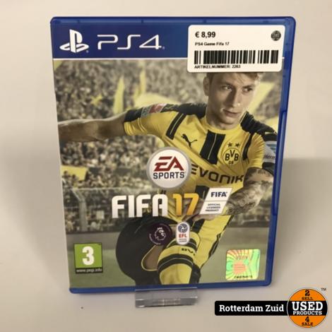 Playstation 4 game PS4: Fifa 17 | Met garantie