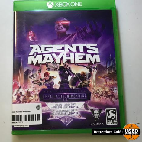 Xbox One game: Agents Mayhem || Met garantie