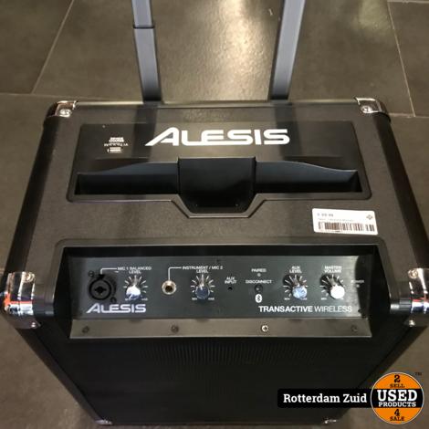 Alesis Transactive Wiresless Bluetooth speaker    Met garantie