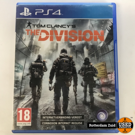 Playstation 4 Game: Tom Clancy's The Divsion || Met garantie