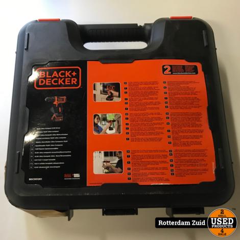Black & Decker BDCDD12K1 Accuschroef/Boormachine || Nieuw in doos || met garantie ||