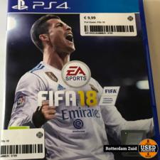 PS4 Game: Fifa 18 || Met garantie