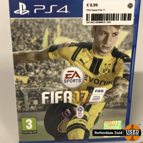 PS4 Game: Fifa 17 || Met garantie