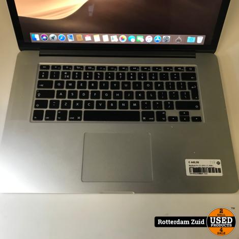 MacBook Pro 15 | 2012 | i7 | 8GB | 500GB || In nette staat met garantie |