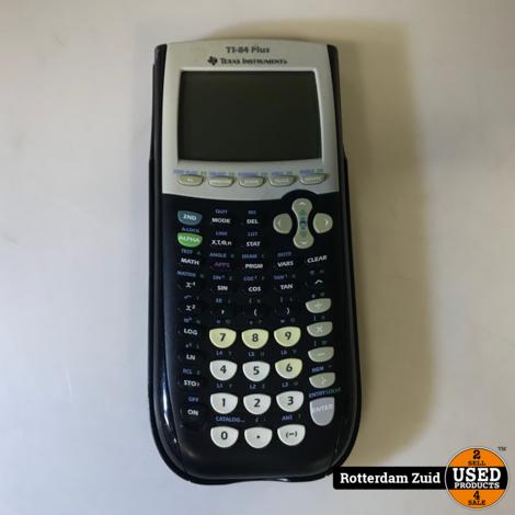 Texas Instruments TI-84 Plus grafische rekenmachine    Met garantie