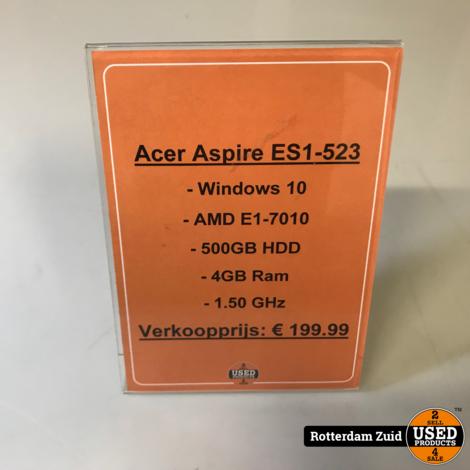 Acer ASpire ES1-523 || Met garantie
