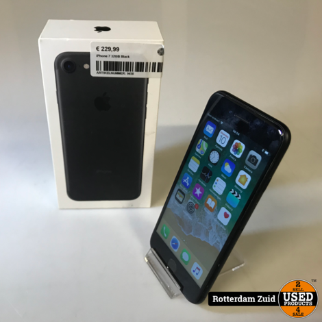 iPhone 7 32GB || Zwart/Black || Met garantie