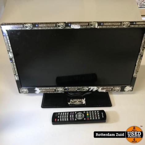 Salora 22led9100c || Full-HD tv met ab || Met garantie