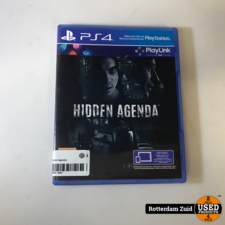 PS4 game : Hidden Agenda