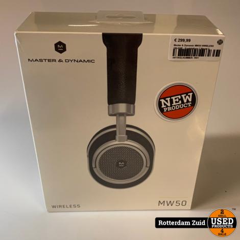 Master & Dynamic MW50 WIRELESS ON-EAR - Koptelefoon    Nieuw   