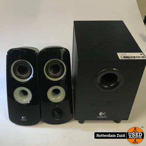 Logitech Z323 2.1 speaker set    met garantie   