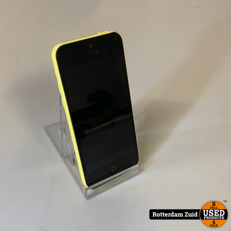 iPhone 5C 16GB Geel || in nette staat