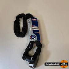 ABUS Kettingslot CityChain 6800 zwart - 110 CM    Nieuw