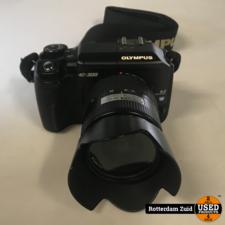 Olympus E-300 + 14-45 mm camera lens || Met garantie