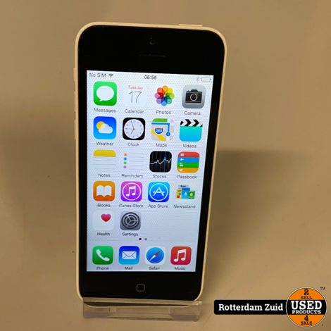 iPhone 5C 8GB wit || in nette staat ||