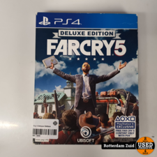 Ps4 Game: Far Cry 5 Deluxe Edition