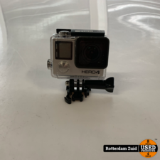 GoPro Hero 4 Zilver || Compleet en met garantie ||