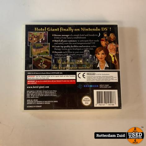 Nintendo 3DS Game: Hotel Giant || Met garantie