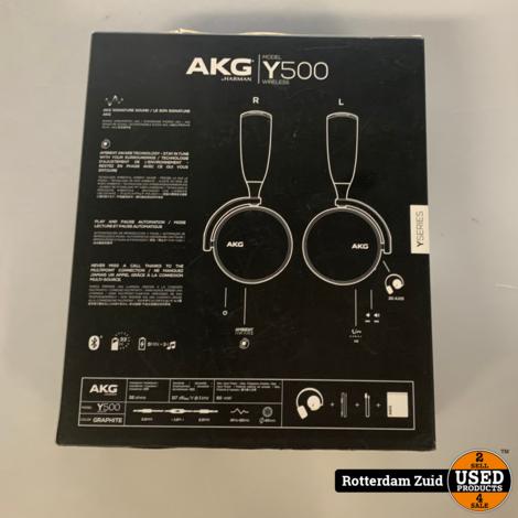 AKG Y500 Koptelefoon    In doos    Met garantie