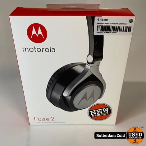 Motorola Pulse 2 On Ear Koptelefoon || Nieuw in doos ||